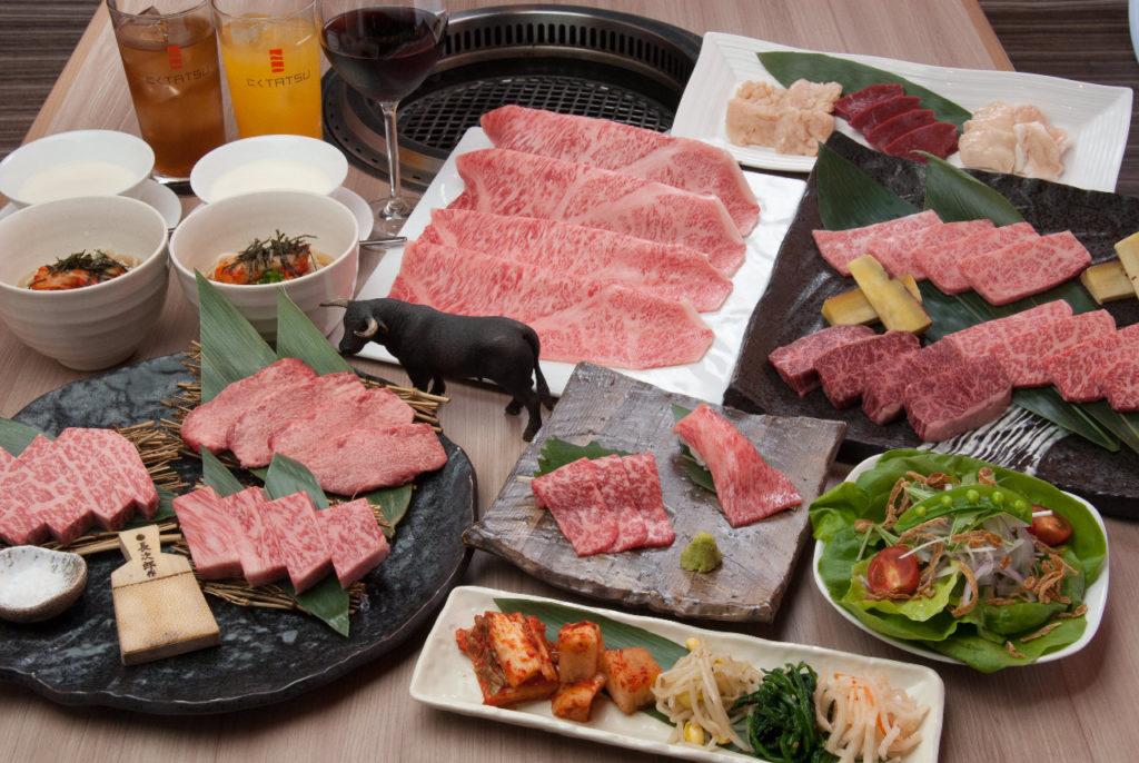 外苑前の焼肉店【にくTATSU】では近江牛をご堪能いただけます